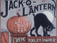 American Advertising Treasures: HALLOWEEN  BLOTTERS