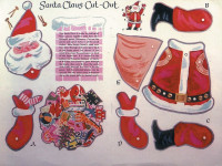 Christmas Paper Dolls Were Eagerly Awaited