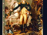 """Colonial Heroes"" Patriotic Postcards"