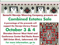 Sonachi Navajo Weaving Company presents a Combined Estates Sale