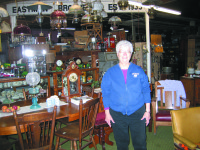 Mary Eastman's Old Warehouse Antiques, A Sterling Landmark