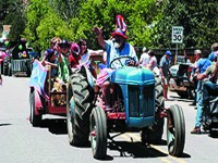 Rhubarb Festival in Pine Grove, Colorado on June 11