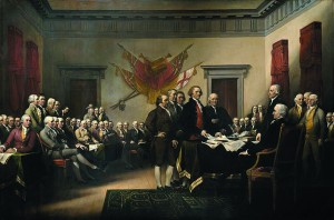 02 The Declaration of Independence by John Trumbull