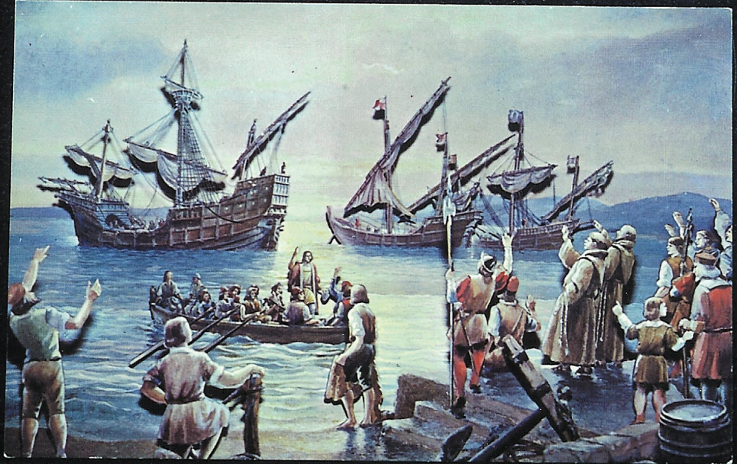 Columbus Day Collectibles Still Valued