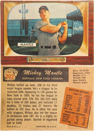 Baseball Cards of the 1950s: A Kid's View Looking Back