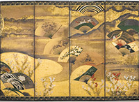 Painted Japanese Screens Still Popular