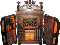 The Antique Detective: Pricey Wooton Desks Old and New Still Attract Buyers