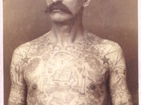 Capt. Fred Hadley Tattoo Man