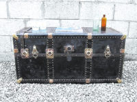 Old Travel Luggage Finds New Decorative Use