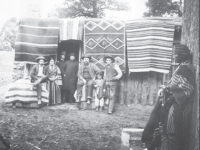 Antique Navaho Blankets Bring Top Prices