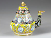 Antique Detective: Chinese Painted Enamel Objects Colorful and Costly